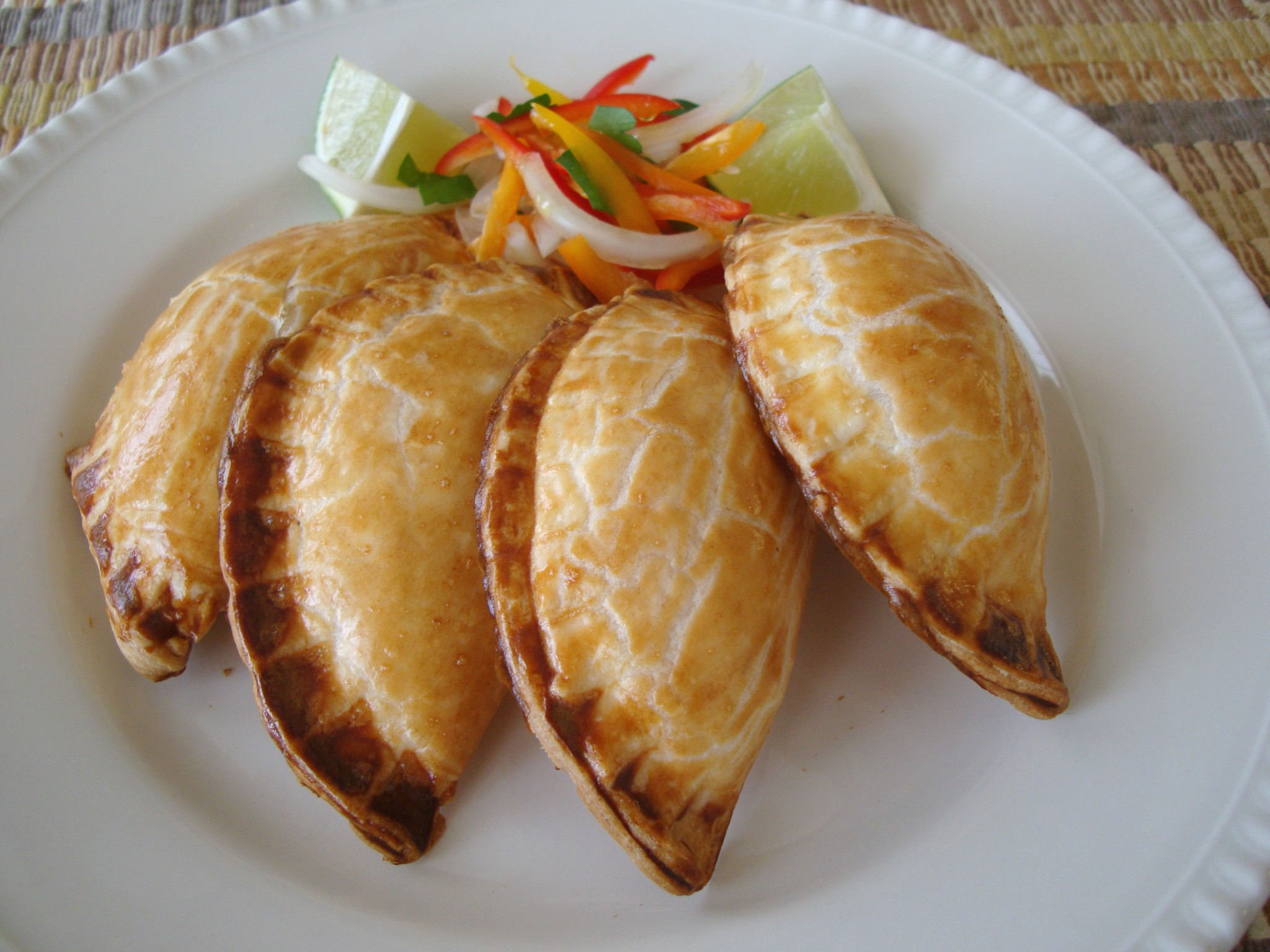 Smoky Potato And Caper Empanadas With Cilantro Sauce Recipe ...