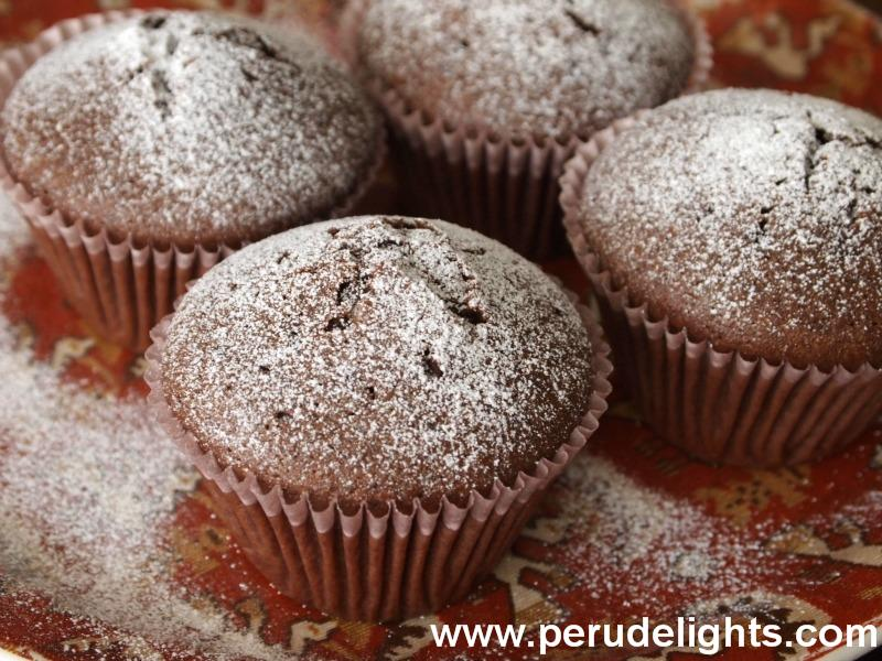 Quinoa chocolate muffins