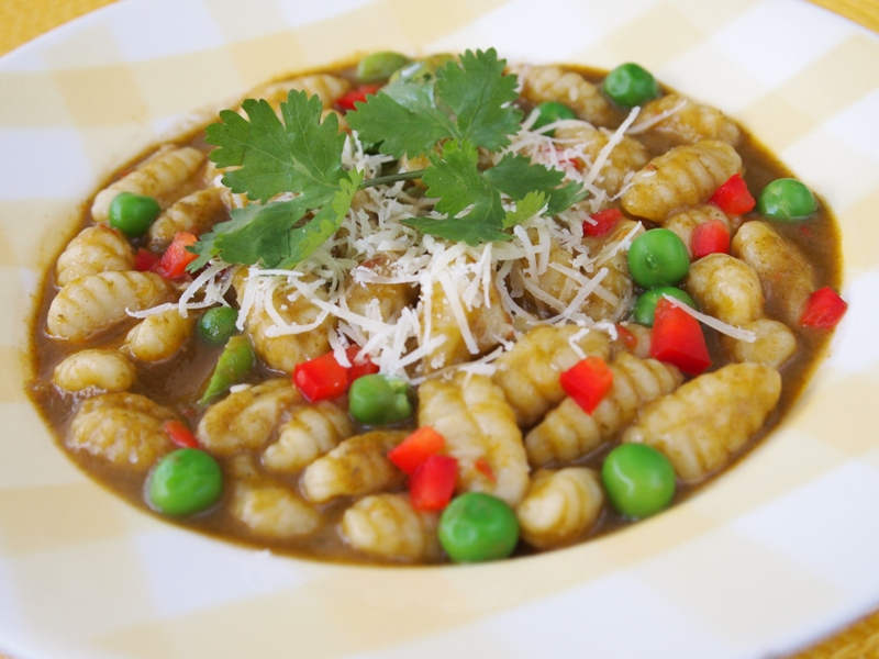 gnocchi with seco sauce