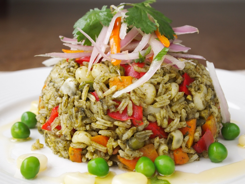 vegetarian arroz con pollo