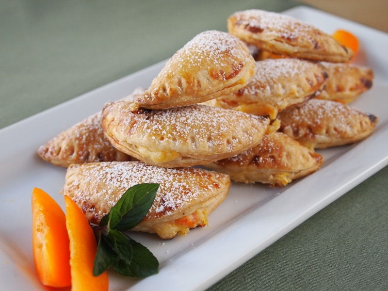 Apricot and cream cheese empanadas
