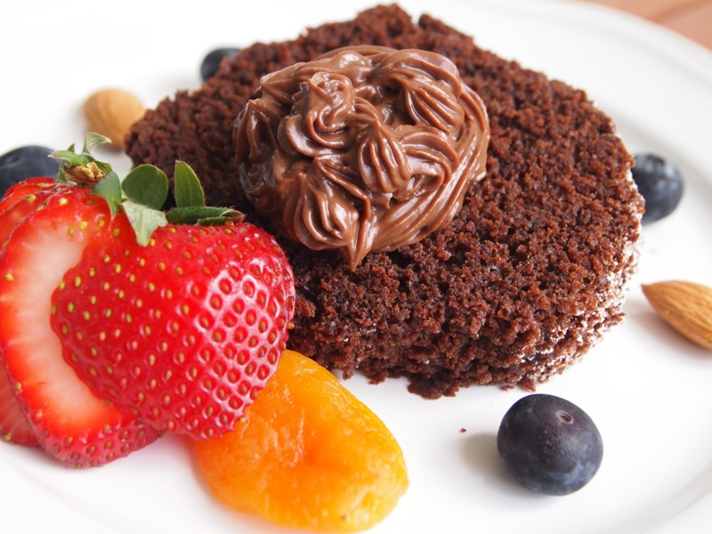 Vegan chocolate cake. jpg