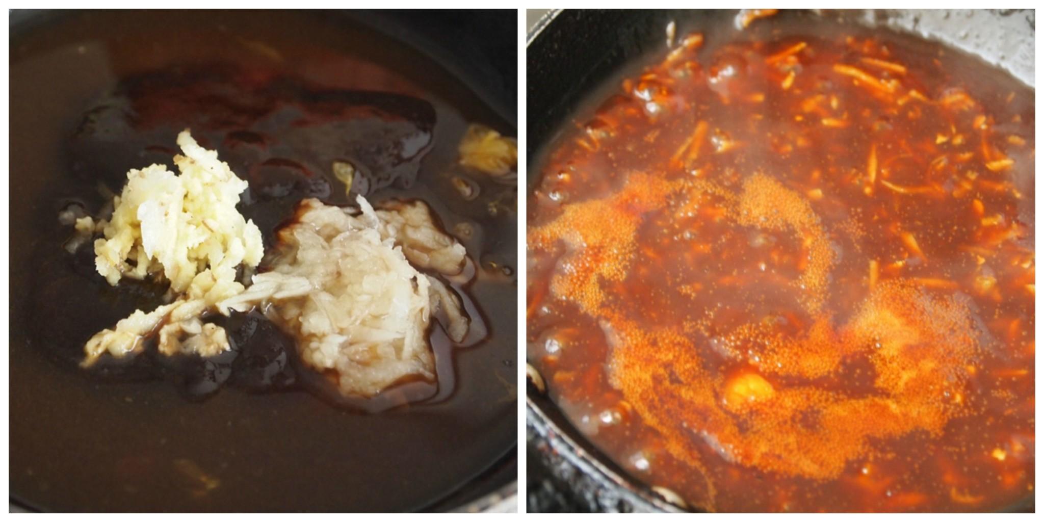 Pork chops with hoisin sauce. jpg