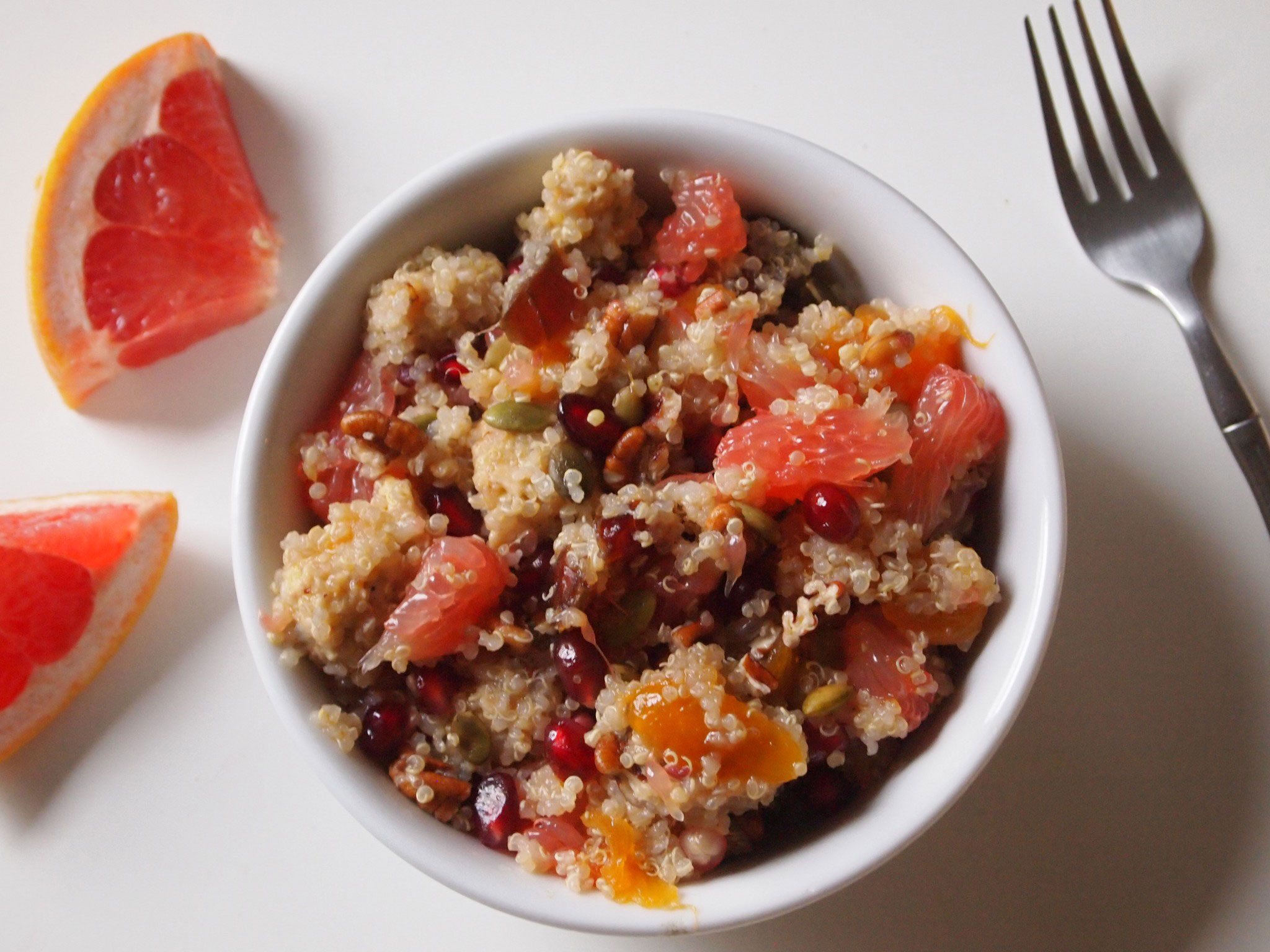 Grapefruit Quinoa Salad