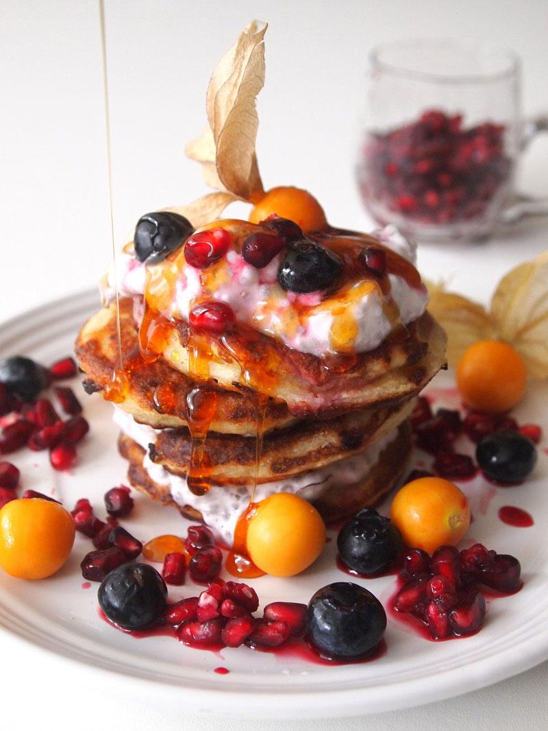 Queso Fresco Pancakes