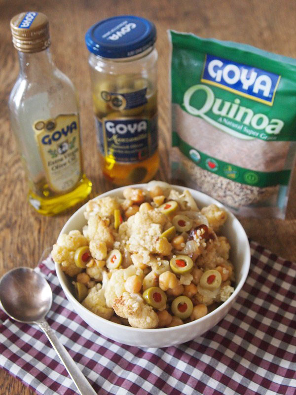Quinoa and Cauliflower Pilaf