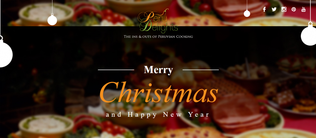 Christmas special our best peruvian recipes peru delights custom christmas card generator forumfinder Image collections