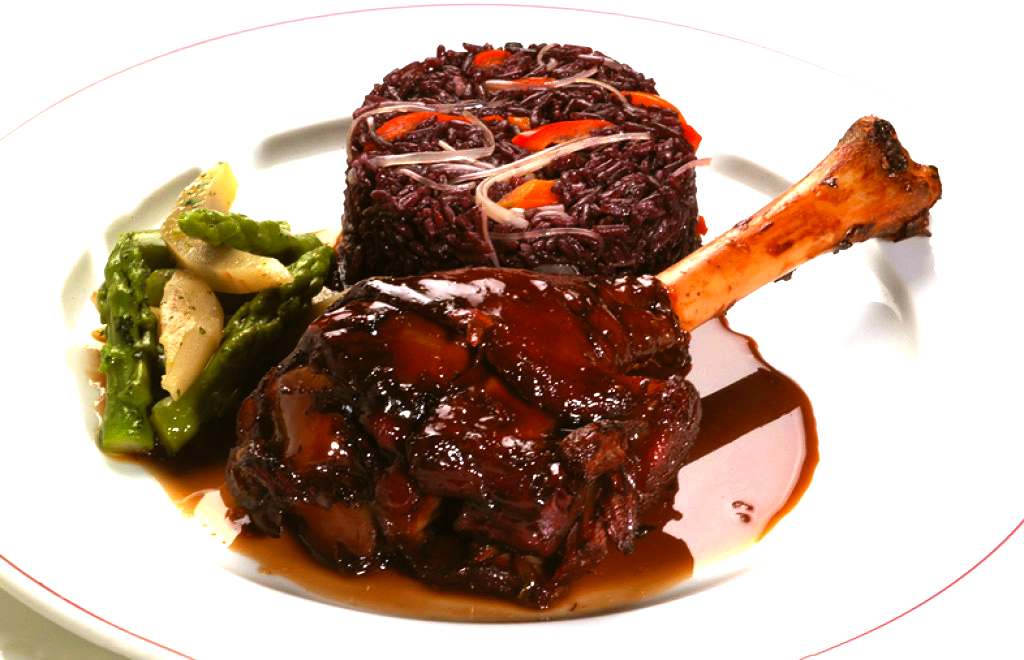 Christmas special our best peruvian recipes peru delights lamb shanks with purple rice forumfinder Image collections