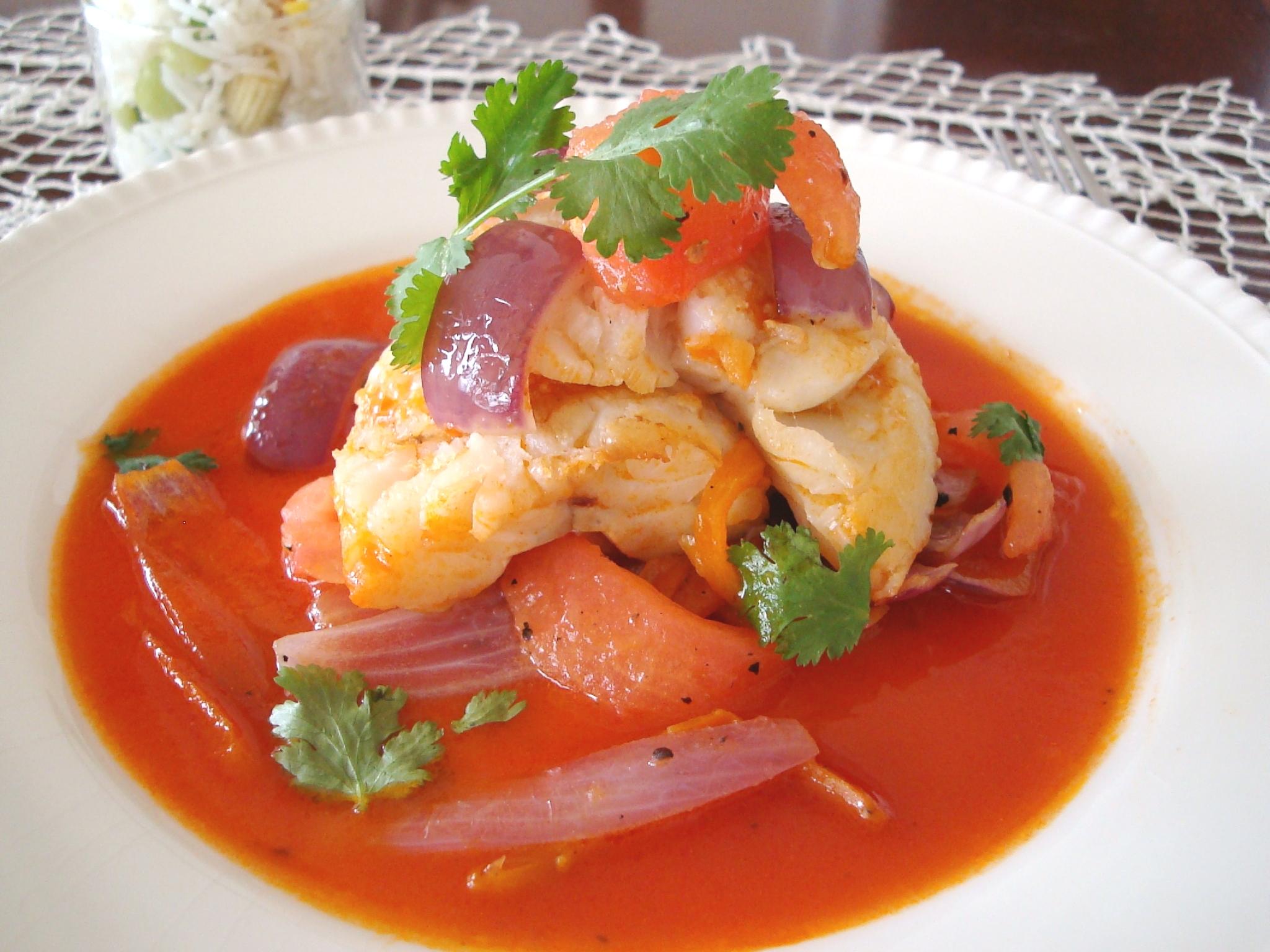 Corvina a la chorrillana a fisherman 39 s recipe peru delights for Corvina fish recipes