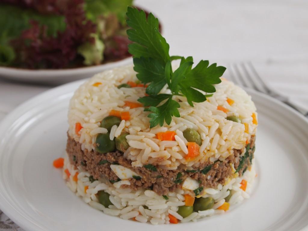 Arroz tapado, the lazy cook's favourite