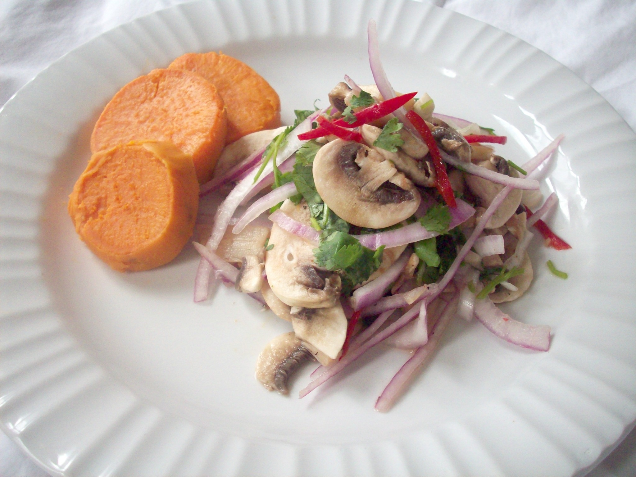 Mushroom Cebiche All Health And Flavor Freaks Welcome Peru Delights