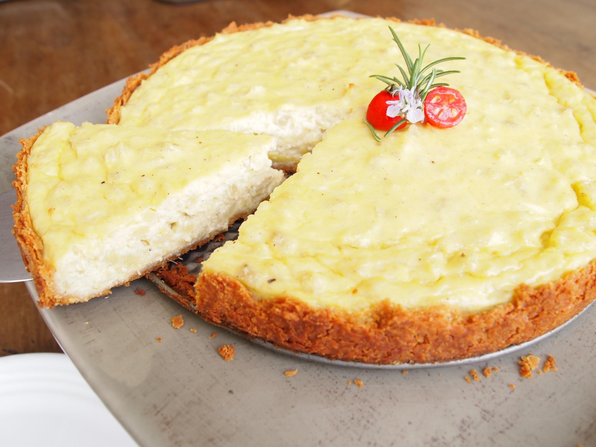 Artichoke Tart - Pastel de Alcachofas