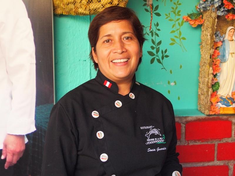 Chef Sonia Guardia