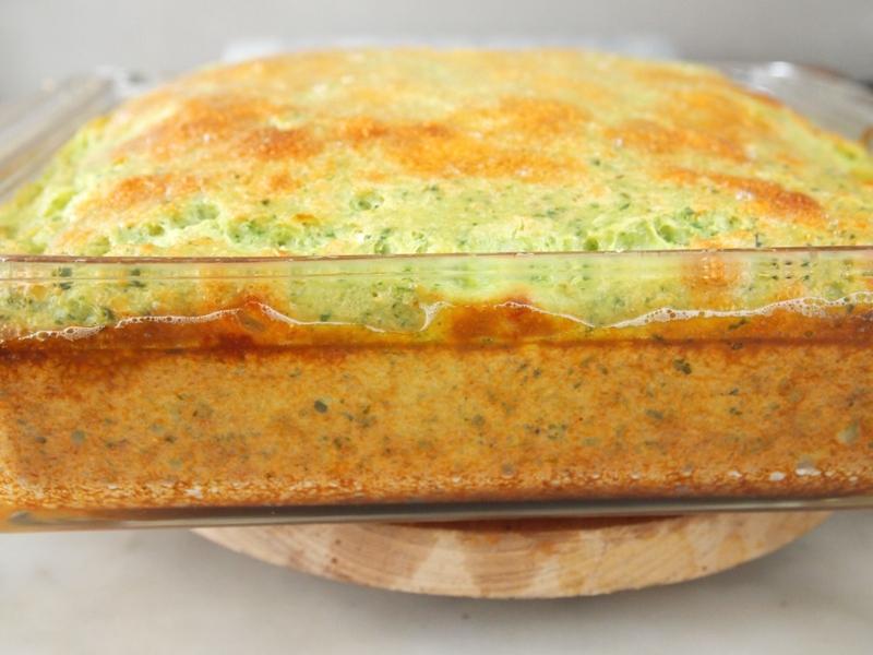 baked tamalito verde