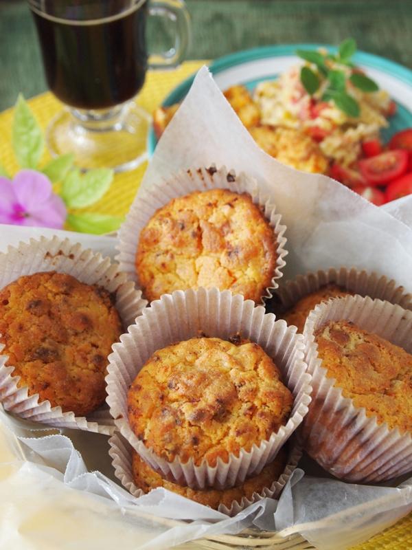 Muffins de salchicha de Huacho. jpg