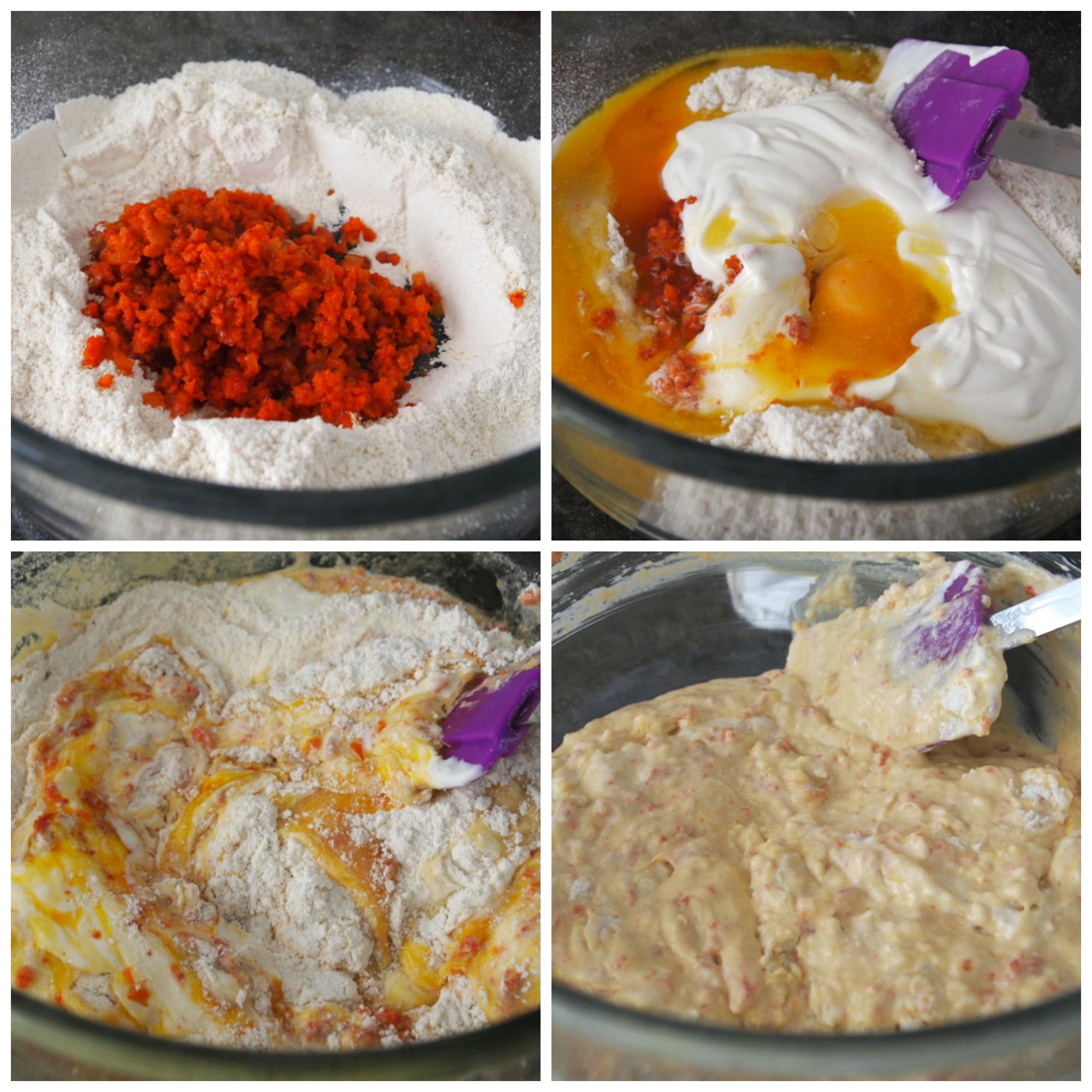 Maseca muffins with salchicha de Huacho. jpg