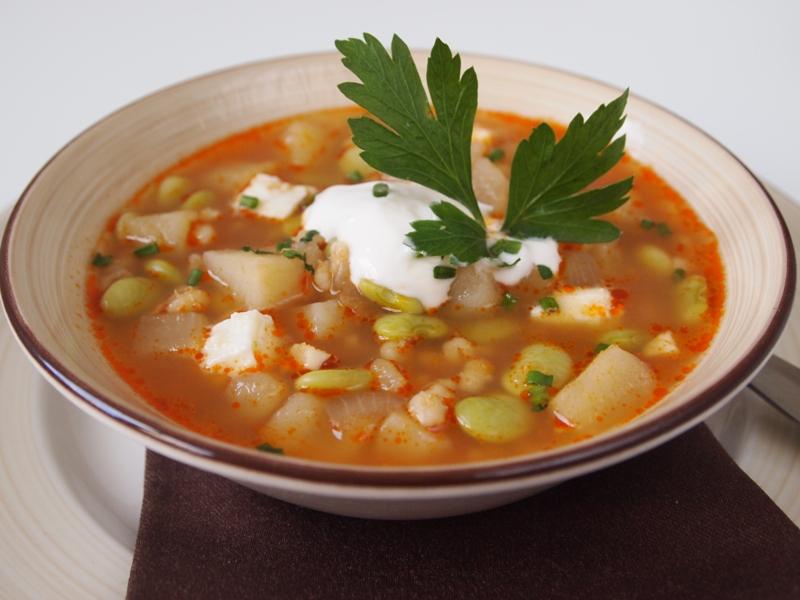 Fava bean and barley chupe. jpg