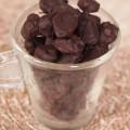 Aguaymantos bañados en chocolate
