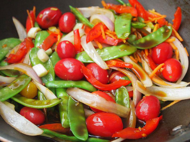 Vegetales Salteados al Teriyaki
